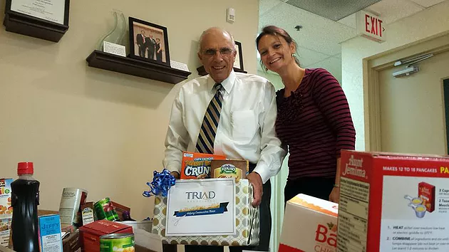 Triad Donates To Food Bank